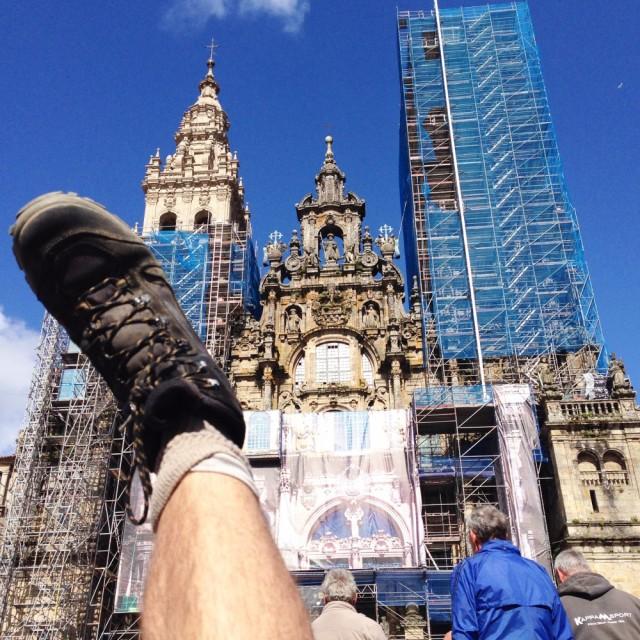 Assim que cheguei a Santiago